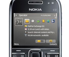 Nokia E72 ready for pre-order in the UK