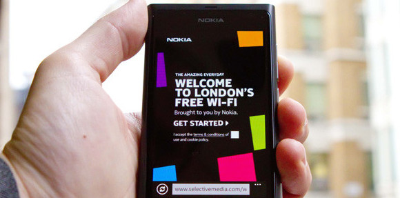 Nokia turns on free central London Wi-Fi network