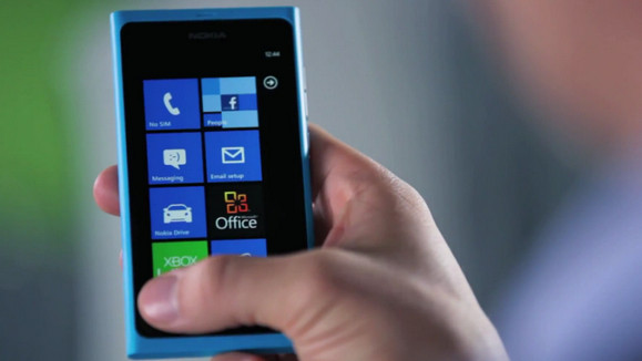 Nokia shows off the Lumia 800, the 'first real Windows Phone'