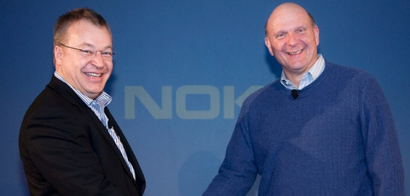 Nokia slings its loving arms around Windows Phone OS, job losses ahead