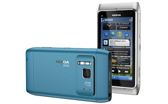 Nokia announces N8 smartphone with 12MP camera