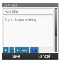 WordPress for Nokia app released