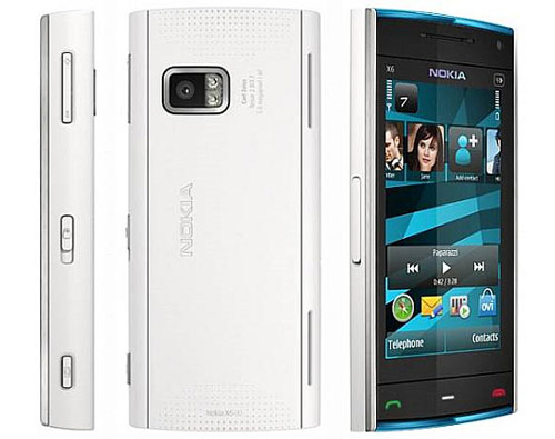 Nokia X6 Comes With Music hits the UK
