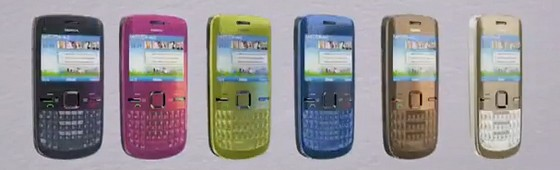 Nokia's new social-tastic C6 and E5 handsets get video