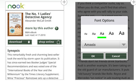 Barnes & Noble released NOOK for Android bookworms