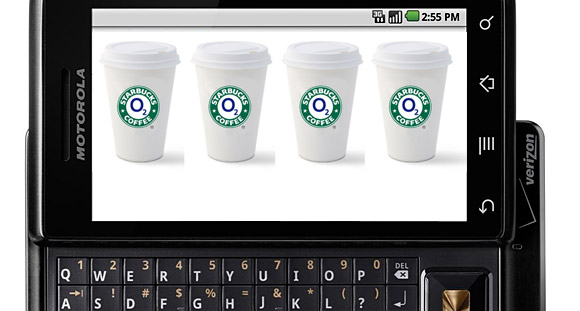o2 team up with Starbucks and L'Oreal for location based SMS vouchers