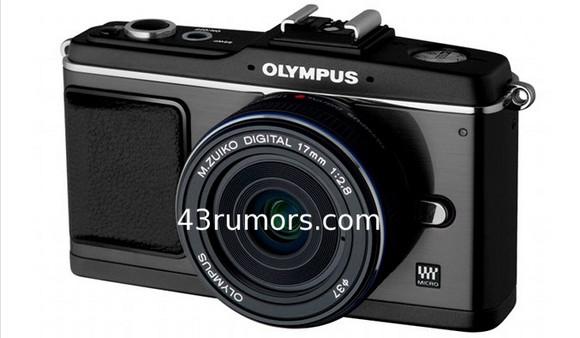 Olympus rumours: black E-P2 compact=