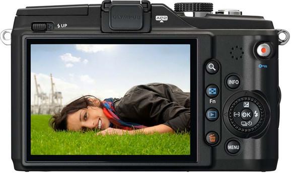 Olympus PEN E-PL2 Micro Four Thirds camera