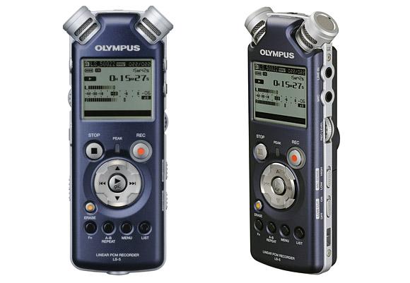 Olympus LS-5 voice recorder promises pocket-sized hi-fi