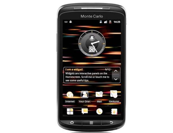 Orange ready Android Monte Carlo smartphone (aka ZTE Skate)