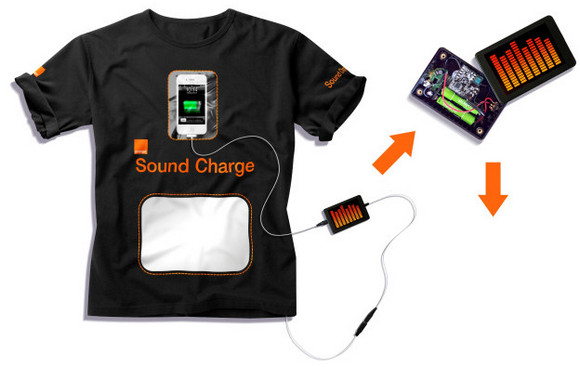 Glastonbury revellers risk ridicule with Orange's recharging t-shirt