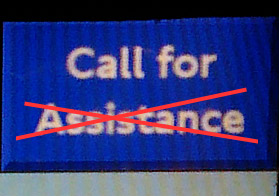 Official! Tube 'Call For Assistance' ticket button is pointless