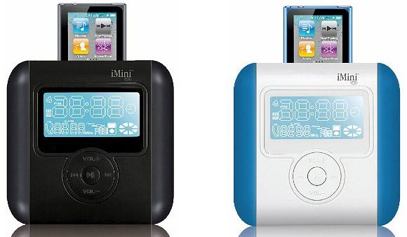 Ozaki imini cute ip831 alarm clock radio silver ip831: amazon. Co.