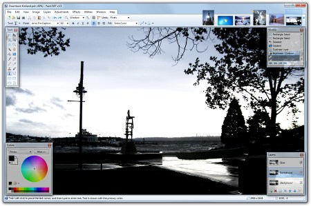 Paint.net: FREE powerful image editor for Windows