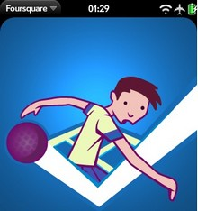 Foursquare for the Palm webOS released