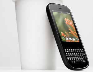 Palm Pixi handset spotted on video