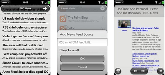 News Feed - RSS news reader for Web OS