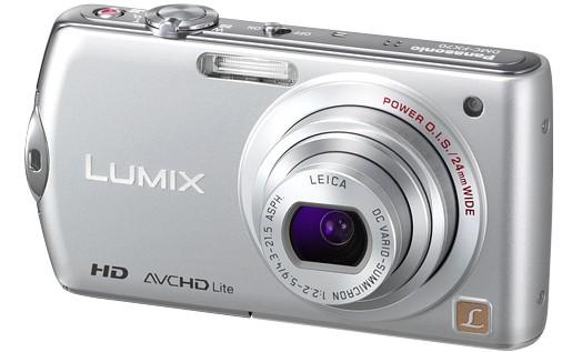 Panasonic Lumix 14MP DMC-FX70: 24-120mm with F2.2-5.9 lens