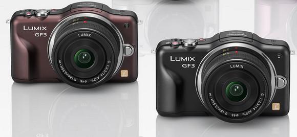 Panasonic Lumix GF3 packs a ton of tech into its diminutive body