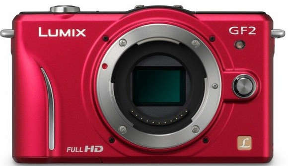 Panasonic Lumix DMC-GF2 compact=