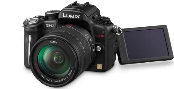 Panasonic Lumix GH2 adds touchscreen and 3D
