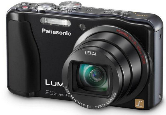 Panasonic LUMIX ZS20 point and shooter packs in GPS and 20x optical zoom