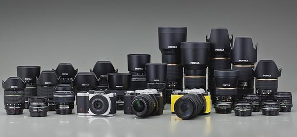 Pentax announces K-01 K-mount APS-C mirrorless camera with designer look