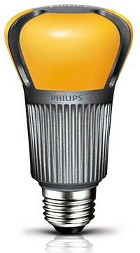Philips reveals the 60w lightbulb of the future