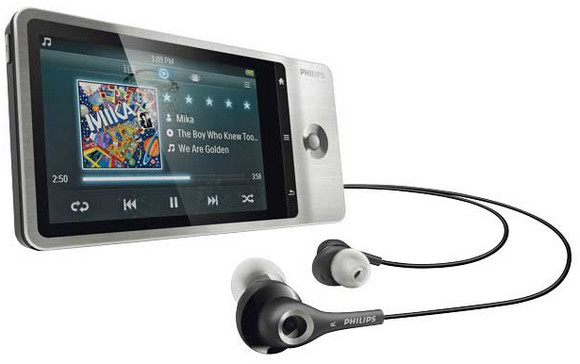 Philips GoGear Connect media player rocks into the UK with Android, Wi-Fi, GPS