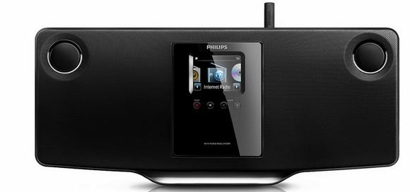 Philips Streamium wireless micro Hifi system cuts a dash