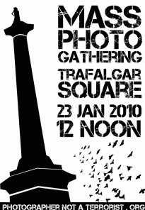 UK street photographers mass rally to defend their rights