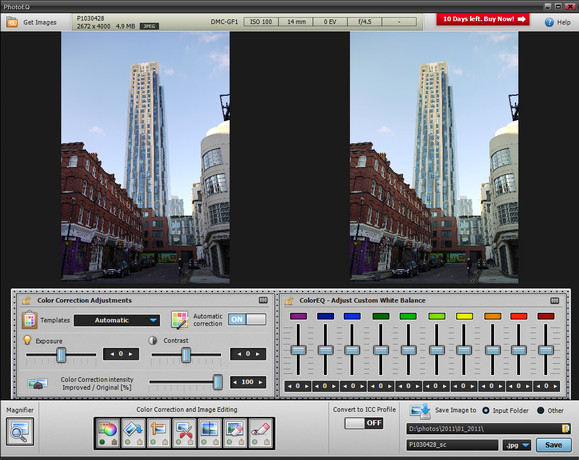 Review: PhotoEQ lightweight digital photo app with batch processing