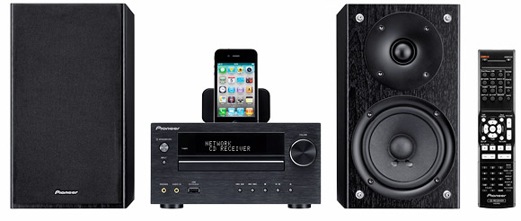 Pioneer X-HM micro stereo system range adds Internet radio and network streaming