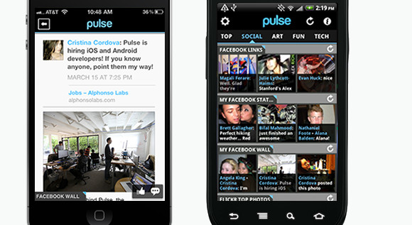 Pulse 2 Android/iPhone RSS reader packs in more features