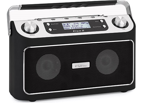 PURE's Élan II DAB/FM Portable Radio packs pause and rewind