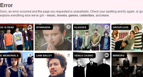 MySpace: will someone please put it out of its misery?