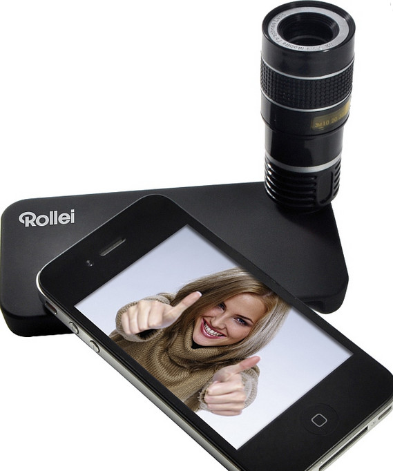 Rollei reduced to making gimmicky iPhone telephoto lens