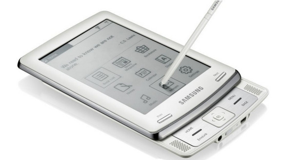 WH Smith go for Kindle with Samsung Slide eReader E60
