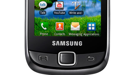 Samsung Galaxy i5510 Android slider shimmies into the stores