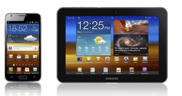 Samsung Galaxy S II LTE handset and Galaxy Tab 8.9 LTE tablet announced