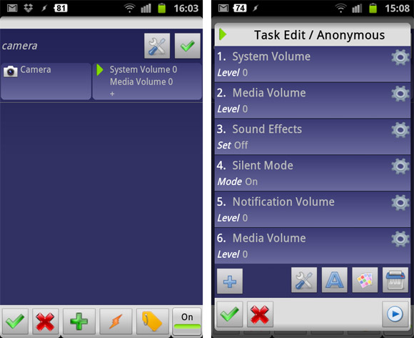 turn off the annoying Samsung Galaxy S2 camera shutter noise