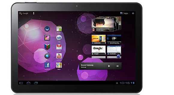 Samsung GALAXY Tab 10.1 Android Honeycomb tablet - details and specs