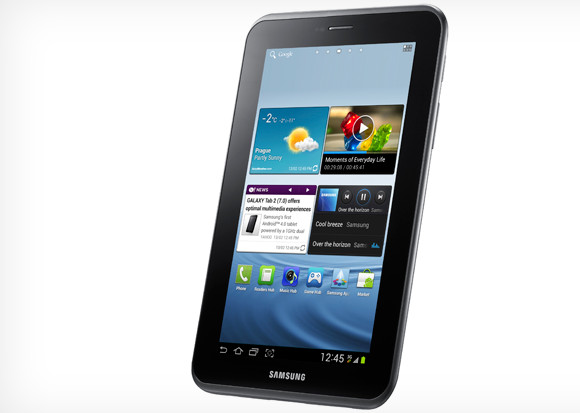 Samsung Galaxy Tab 2 announced, 7 inch screen, dual core, full specs