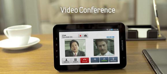 Samsung Galaxy Tab gets the video promo treatment