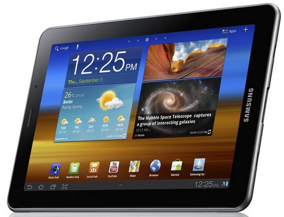 Samsung Galaxy Tab 7.7 tablet offers fantastic screen and silky smooth form factor