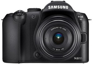Samsung announces NX10 camera with interchangeable lens system