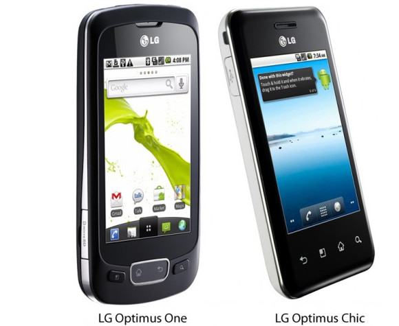 LGlg slam out Optimus range of Android 2.2 handsets and tablet