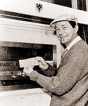 Cash machine inventor dies - ATM idea came in the bath