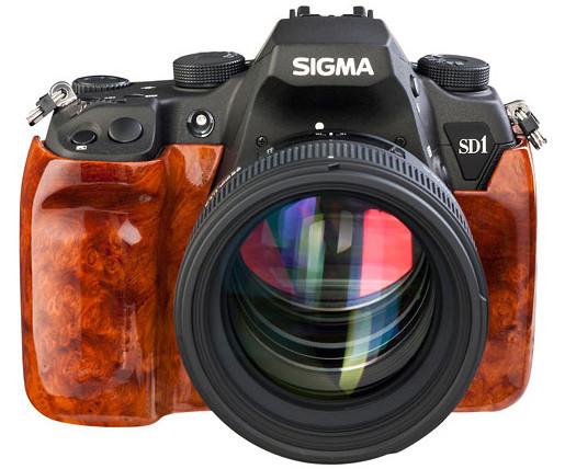 Sigma announces fabulously daft SD1 Wood Edition with burl veneer finish