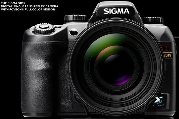 Sigma's SD15 dSLR starts UK shipping next month